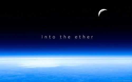 into the either